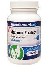 Supplement Spot Maximum Prostate Review