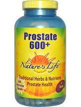 Nature's Life Prostate 600 Plus Review